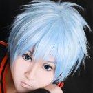 NANA Okazaki Shinichi blue Cosplay wig+free shipping+Free Wig Cap
