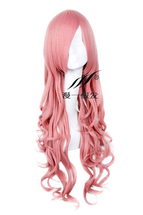 NANA Serizawa Layla pink 80cm Cosplay wig+free shipping+Free Wig Cap