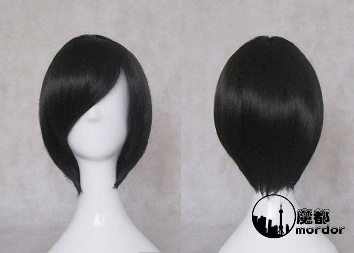 TIGER and DRAGON! Kitamura Yuusaku black Cosplay wig+free shipping+Free Wig Cap