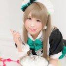 Love Live! Minami Kotori flaxen 80cm ponytail Cosplay wig+free shipping+Free Wig Cap