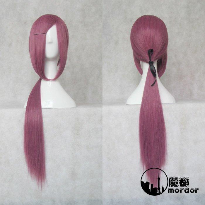 Inu x Boku Secret Service Natsume Zange purple 70cm Cosplay wig+free shipping+Free Wig Cap