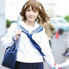 Hanasaku Iroha Matsumae Ohana flaxen brown Cosplay wig+free shipping+Free Wig Cap