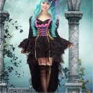 Elegant VOCALOID  Hatsune Miku black cosplay costume cosplay dress