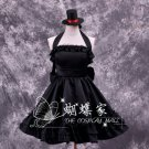 K-ON!K-ON!Akiyama Mio black cosplay Anime Costumes dress