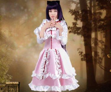 Oreimo Kuroneko Gokou Ruri anime cosplay Lolita costume dress