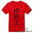 Anohana The Flower We Saw That Day Yadomi Jinta short sleeve cotton cosplay T-shirt clothes ren