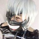 New Tokyo Ghoul Kaneki Ken anime cosplay Adjustable Masks cosplay Halloween Prop Zipper Mask