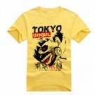 New Tokyo Ghoul Kaneki Ken anime cosplay Halloween short sleeve T-shirt yellow