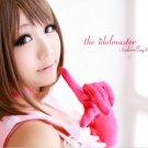 The Idolmaster Cinderella Girls Kanako Mimura brown Cosplay wig+free shipping+Wig Cap