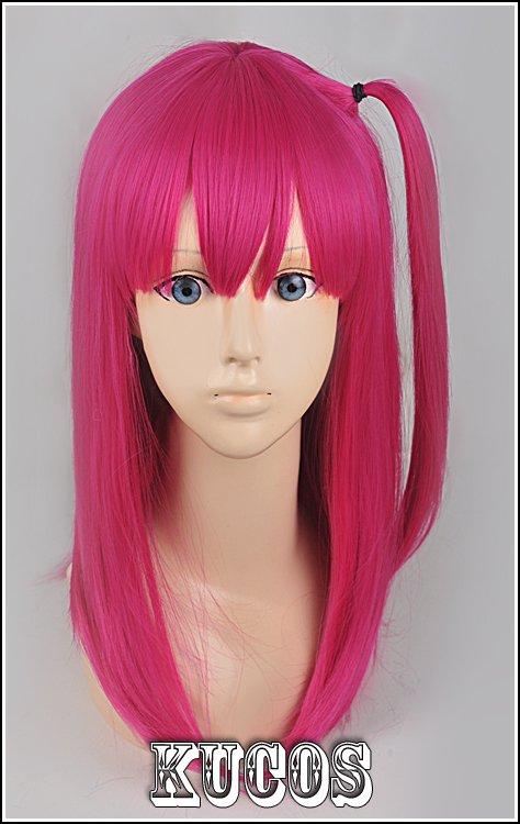 MAGI Morujiana rose red Cosplay wig+free shipping+Free Wig Cap