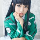 The irregular at magic high school Shiba Miyuki black 100cm Cosplay wig + free shipping+Wig Cap