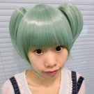 Assassination Classroom Kayano Kaede light green Cosplay wig + free shipping+ Free Wig Cap