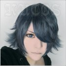 K-Project K RETURN OF KINGS Hisui Nagare short anime cosplay wig +free shipping