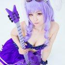 Show by Rock!! Chuchu purple 80cm Cosplay wig+free shipping+Free Wig Cap