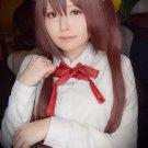 Himouto! Umaru-chan Nana Ebina red brown cos wig+free shipping+Free Wig Cap
