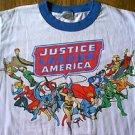 DC Comics Justice League Of America ringer shirt