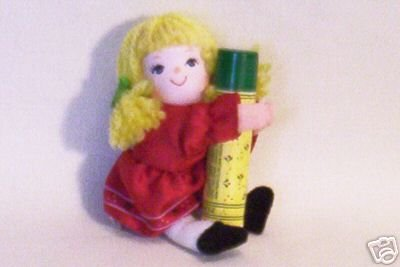 AVON LITTLE RAG DOLL WITH SWEET HONESTY DEMISTICK