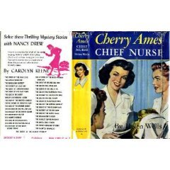 """Cherry Ames;  Chief Nurse"" By Helen Wells"