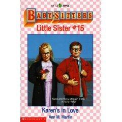 BABYSITTERS CLUB LITTLE SISTER #15 KAREN'S IN LOVE