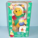 1998 Santa's Best Animated Winnie The Pooh Ornament EZ Light in Box