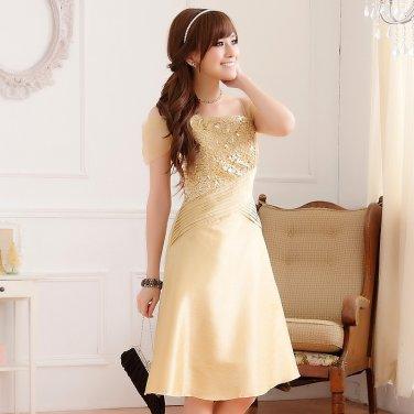 Free Shipping fashion ladies plus size shoulder straps across dual crimp dress D2J629C