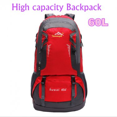 Fashion 60L large capacity travel mountaineering bags Athletic Backpack DBG2030R