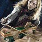 HARRY POTTER HERMIONE GRANGER WAND PROP REPLICA OLLIVANDER'S BOX NOBLE COSTUME