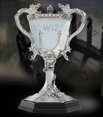 Collectible Harry Potter Tri Wizard Cup Wizarding World Noble Collection Pewter