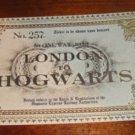Wizarding Harry Potter HOGWARTS EXPRESS TRAIN TICKET PROP REPLICA  9 3/4