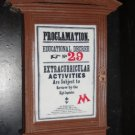 Wizarding World of Harry Potter PROCLAMATION 29 Magnet Universal Studios