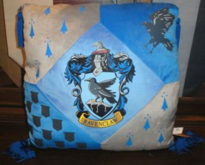 Wizarding World of Harry Potter Ravenclaw Tassel Pillow