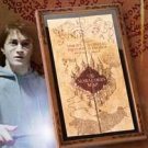 Wizarding World of Harry Potter MARAUDER'S MAP CASE Noble Universal Studios