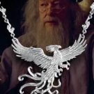 Harry Potter FAWKES THE PHOENIX STERLING SILVER NECKLACE Noble Collection