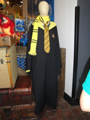 Wizarding World Of Harry Potter Costume Hufflepuff Robe