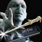 Harry Potter VOLDEMORT ILLUMINATING LIGHT UP WAND Prop Replica  Noble Collection