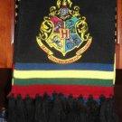Wizarding World of Harry Potter Hogwarts Crest Scarf Costume Uniform Universal