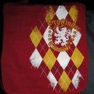 Wizarding World of Harry Potter Gryffindor Argyle Messenger Shoulder Bag