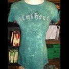 WIZARDING WORLD OF HARRY POTTER SLYTHERIN FITTED SHIRT