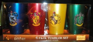 Wizarding World of Harry Potter House Tumbler Set