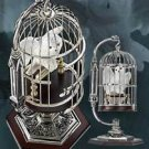 Collectible Harry Potter MINIATURE HEDWIG AND CAGE Wizarding Noble Collection