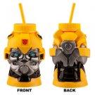 Transformers Bumblebee Molded Sipper Plastic Cup Mug Universal Studios Autobots