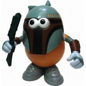 "Star Wars Boba Fett Mr. Potato Head ""Spuda Fett"" Walt Disney World Star Tours"