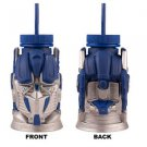 Transformers Optimus Prime Molded Sipper Plastic Cup Mug Universal Studios
