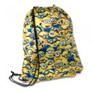 Despicable Me Assemble The Minions Drawstring Backpack Bag Universal Studios