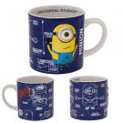 Despicable Me Blue Minion Coffee Mug Blueprint Minion Mayhem Universal Studios