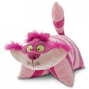 Alice In Wonderland Cheshire Cat Pillow Pal Pet Plush Walt Disney World Parks