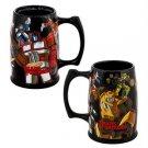 Transformers Stein Optimus Prime Bumblebee Coffee Mug Universal Studios