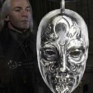 Lucius Malfoy Death Eater Mask Pendant Necklace Noble Harry Potter