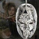 Bellatrix Lestrange Death Eater Mask Pendant Necklace Noble Harry Potter