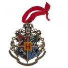 Wizarding World of Harry Potter Hogwarts Metal Crest Ornament